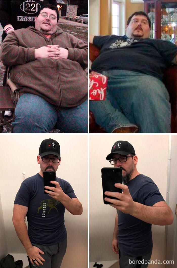 133 kg mniej