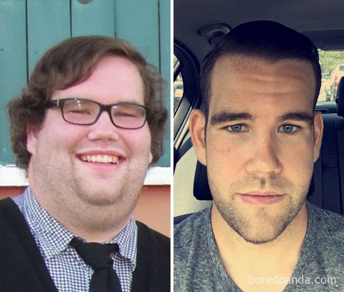 59 kg mniej