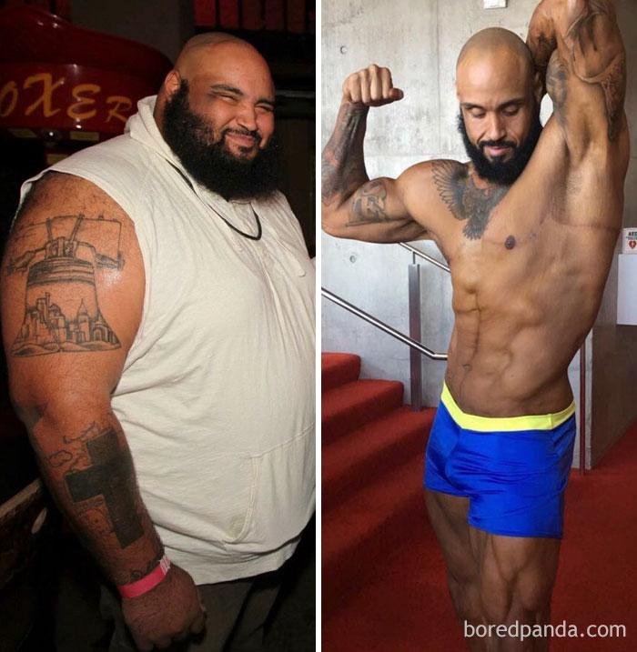153 kg mniej