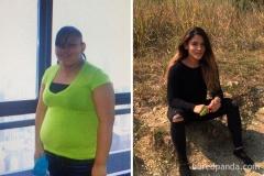 36 kg mniej