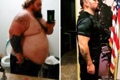 104 kg mniej