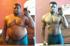 47 kg mniej