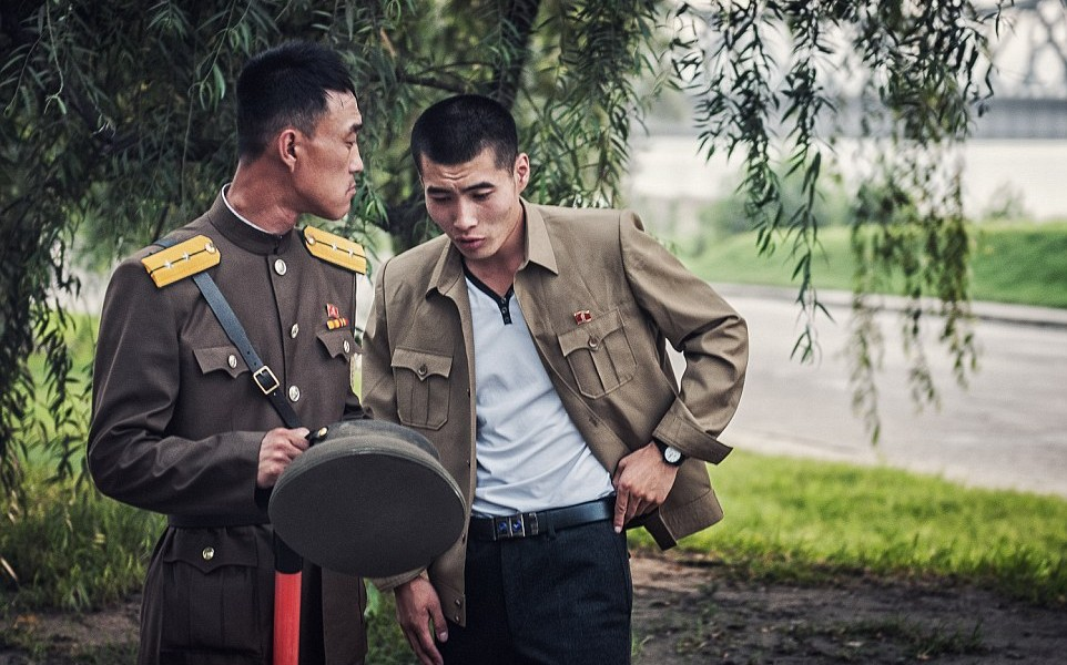 Rozmowa dwóch żołnierzy