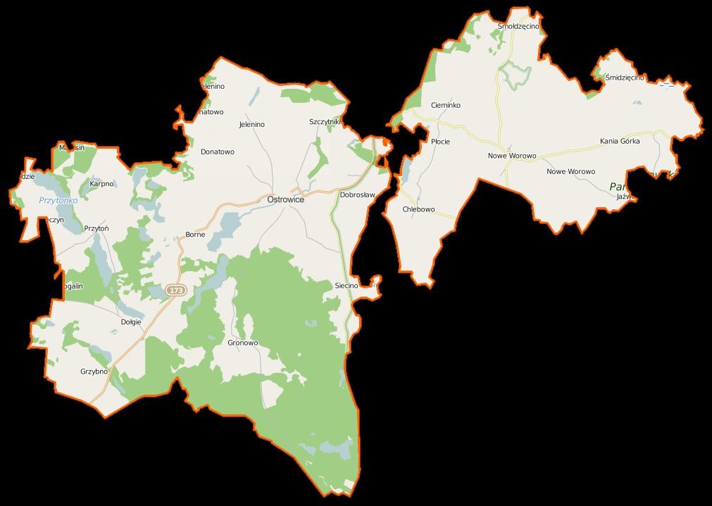 Miejsce 1: Ostrowice